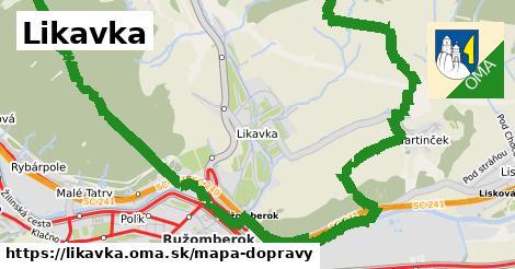ikona Mapa dopravy mapa-dopravy v likavka