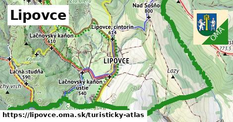 ikona Turistická mapa turisticky-atlas  lipovce
