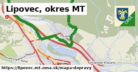 ikona Mapa dopravy mapa-dopravy  lipovec.mt