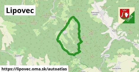 ikona Mapa autoatlas  lipovec