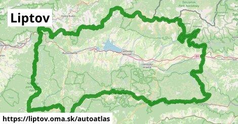 ikona Mapa autoatlas  liptov