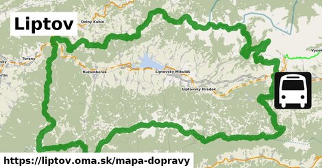 ikona Mapa dopravy mapa-dopravy  liptov