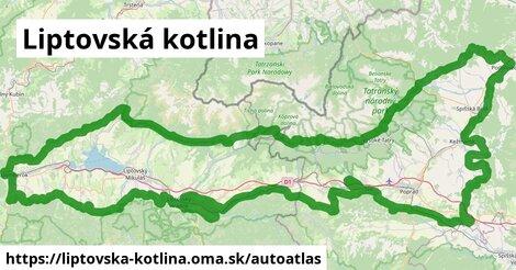 ikona Mapa autoatlas  liptovska-kotlina