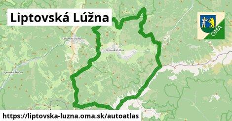 ikona Mapa autoatlas  liptovska-luzna