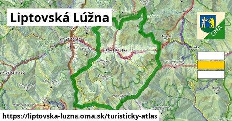 ikona Turistická mapa turisticky-atlas  liptovska-luzna
