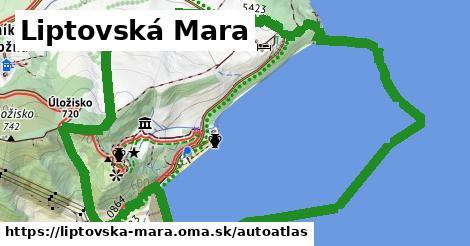 ikona Mapa autoatlas  liptovska-mara