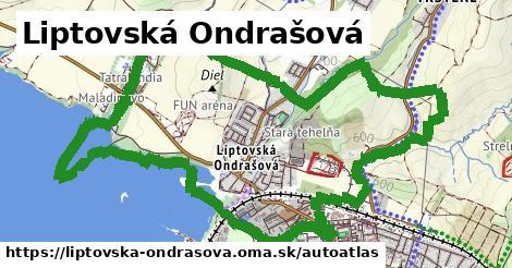 ikona Mapa autoatlas  liptovska-ondrasova