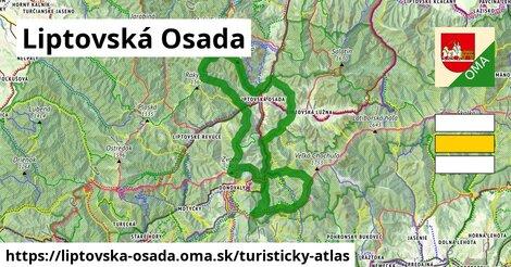 ikona Turistická mapa turisticky-atlas  liptovska-osada