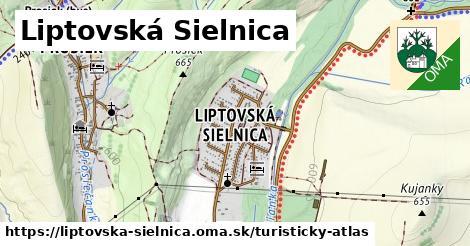 ikona Turistická mapa turisticky-atlas  liptovska-sielnica