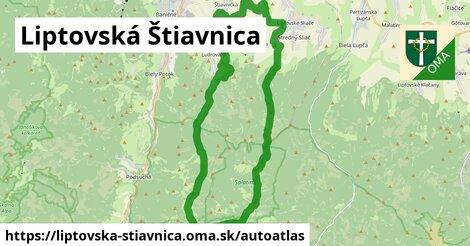 ikona Mapa autoatlas  liptovska-stiavnica