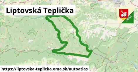 ikona Mapa autoatlas  liptovska-teplicka