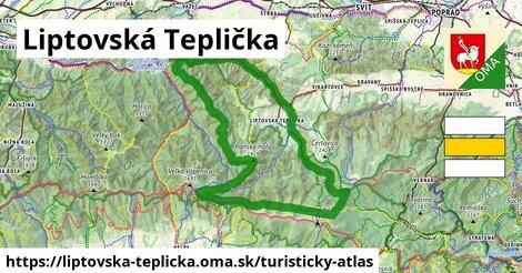 ikona Turistická mapa turisticky-atlas  liptovska-teplicka