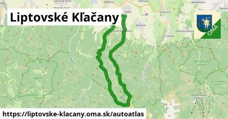 ikona Mapa autoatlas  liptovske-klacany
