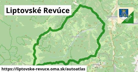 ikona Mapa autoatlas  liptovske-revuce