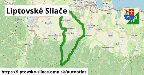 ikona Mapa autoatlas  liptovske-sliace