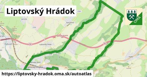 ikona Mapa autoatlas  liptovsky-hradok
