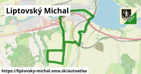 ikona Mapa autoatlas  liptovsky-michal