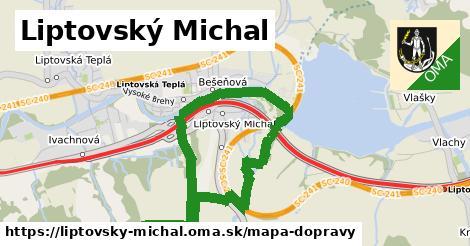 ikona Mapa dopravy mapa-dopravy v liptovsky-michal