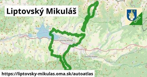 ikona Mapa autoatlas  liptovsky-mikulas