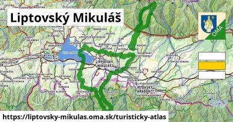 ikona Turistická mapa turisticky-atlas  liptovsky-mikulas