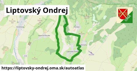 ikona Mapa autoatlas  liptovsky-ondrej