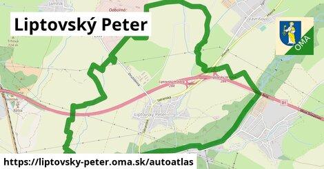 ikona Mapa autoatlas  liptovsky-peter