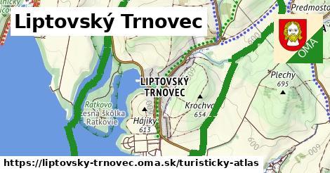ikona Turistická mapa turisticky-atlas  liptovsky-trnovec