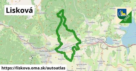 ikona Mapa autoatlas  liskova