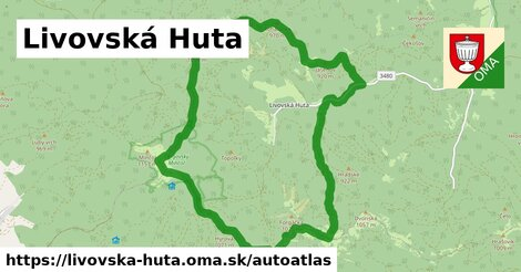 ikona Mapa autoatlas  livovska-huta