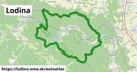 ikona Mapa autoatlas  lodina