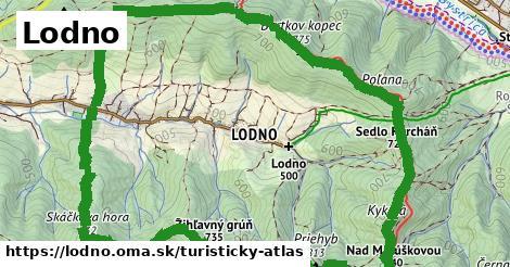 ikona Turistická mapa turisticky-atlas  lodno