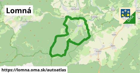 ikona Mapa autoatlas  lomna