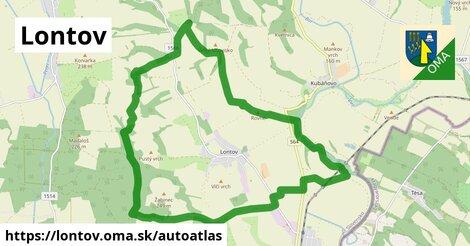 ikona Mapa autoatlas  lontov