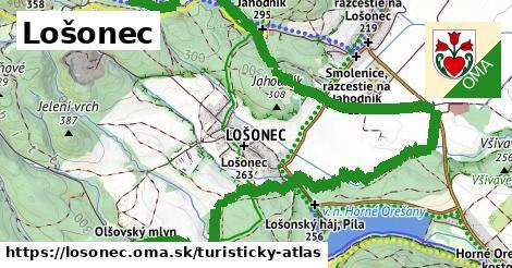 ikona Turistická mapa turisticky-atlas  losonec