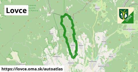 ikona Mapa autoatlas  lovce