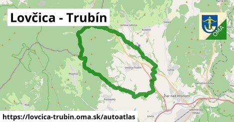 ikona Mapa autoatlas  lovcica-trubin