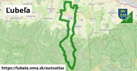 ikona Mapa autoatlas  lubela