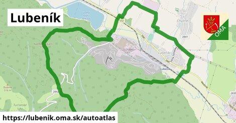 ikona Mapa autoatlas  lubenik
