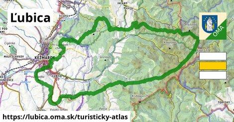 ikona Turistická mapa turisticky-atlas  lubica
