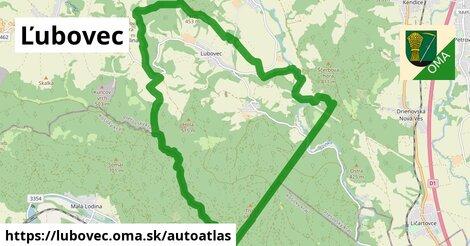 ikona Mapa autoatlas  lubovec