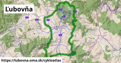 ikona Ľubovňa: 49km trás cykloatlas  lubovna