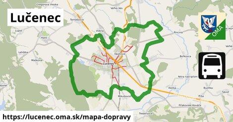ikona Mapa dopravy mapa-dopravy  lucenec