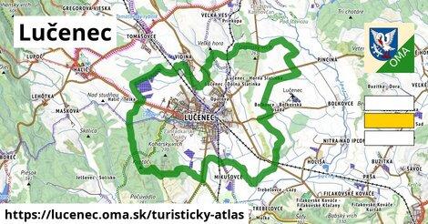 ikona Turistická mapa turisticky-atlas  lucenec