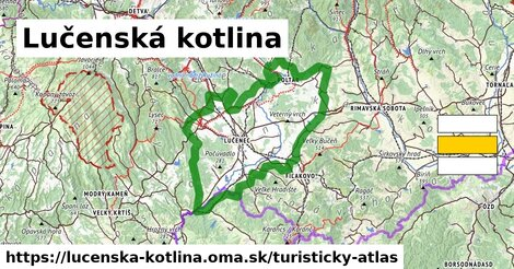 ikona Turistická mapa turisticky-atlas  lucenska-kotlina
