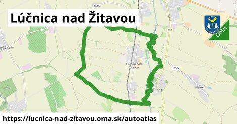 ikona Mapa autoatlas  lucnica-nad-zitavou