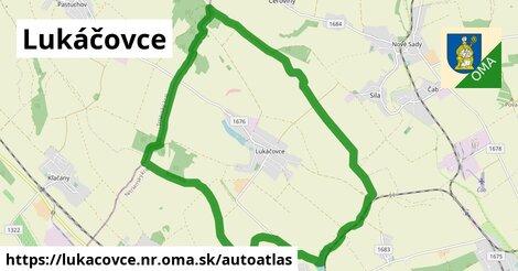 ikona Mapa autoatlas  lukacovce.nr