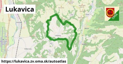 ikona Mapa autoatlas  lukavica.zv
