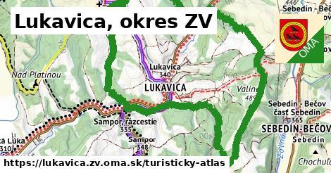 ikona Turistická mapa turisticky-atlas v lukavica.zv