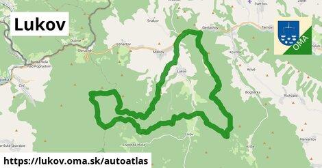 ikona Mapa autoatlas  lukov