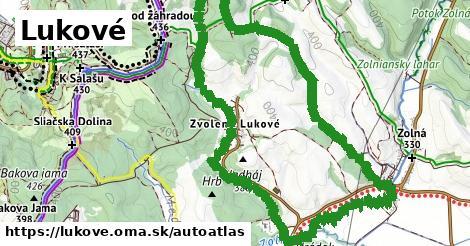 ikona Mapa autoatlas  lukove